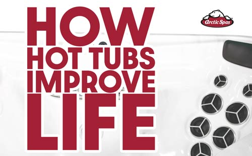 how hot tubs improve life
